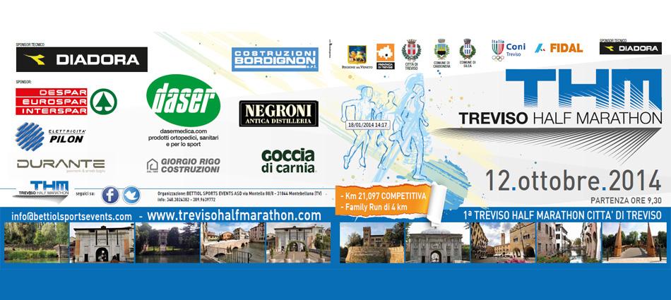 Treviso Half Marathon 2014