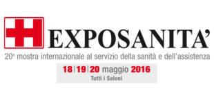 Vi aspettiamo a EXPOSANITA' 2016