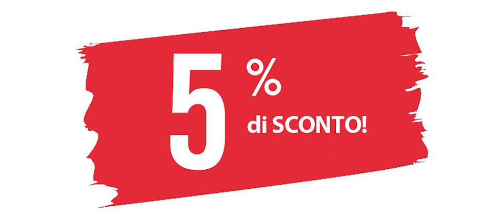 sconto5percento - 5% di sconto per tutti!